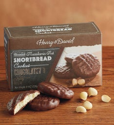Chocolate Covered Macadamia Nut Shortbread (8 oz)