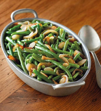 Stock Yards® Black Truffle and Almond Green Beans