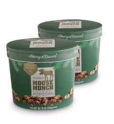 Moose Munch® Premium Popcorn Seasonal Drum - 2 Pack