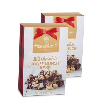 Moose Munch® Holiday Bark - Milk Chocolate - 2 Pack