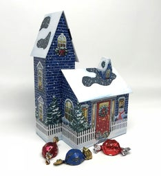 Winter House with Truffles