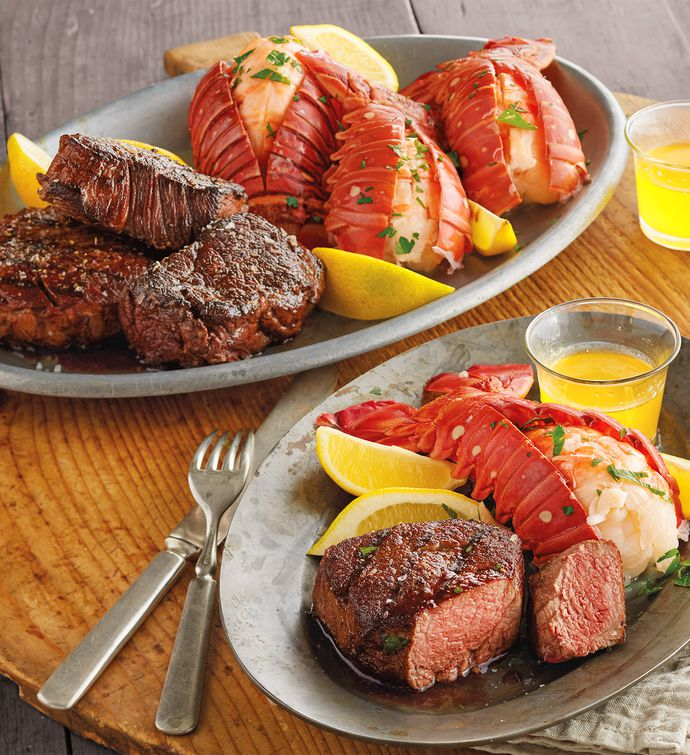 steak and lobster feast prepared meals harry david. Black Bedroom Furniture Sets. Home Design Ideas