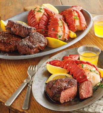 Steak and Lobster Feast