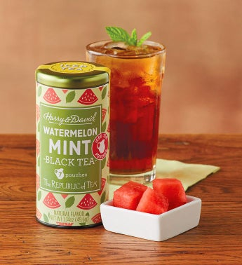 Watermelon Mint Iced Tea