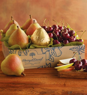 Early Harvest Royal Verano Pears and Cherries