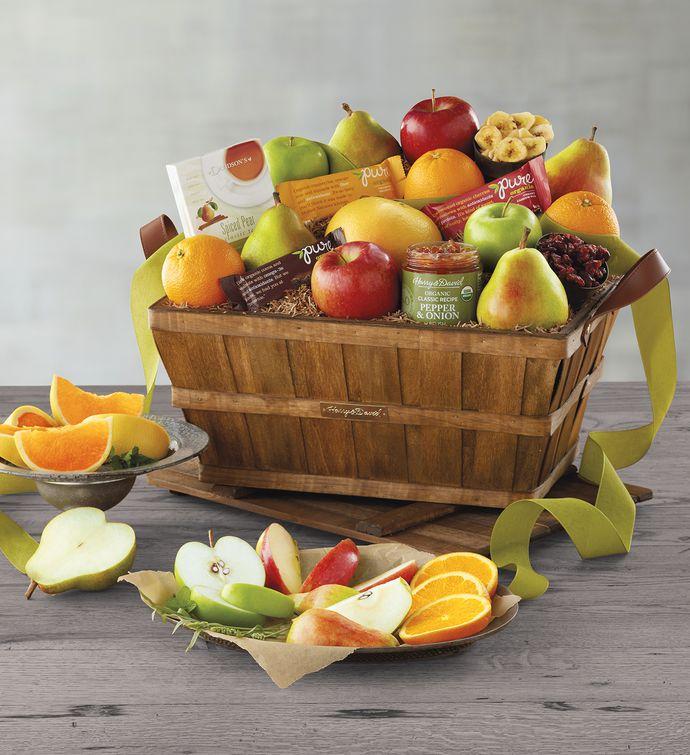 Deluxe Organic Fruit Gift Basket Harry David. Harry And David Organic Gift Box Gift Ideas