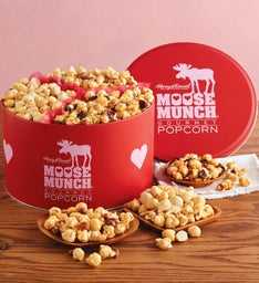 Moose Munch® Premium Popcorn Valentine's Day Tin