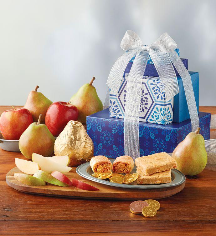 Harry And David Birthday Gift Baskets : Hanukkah gift tower harry david