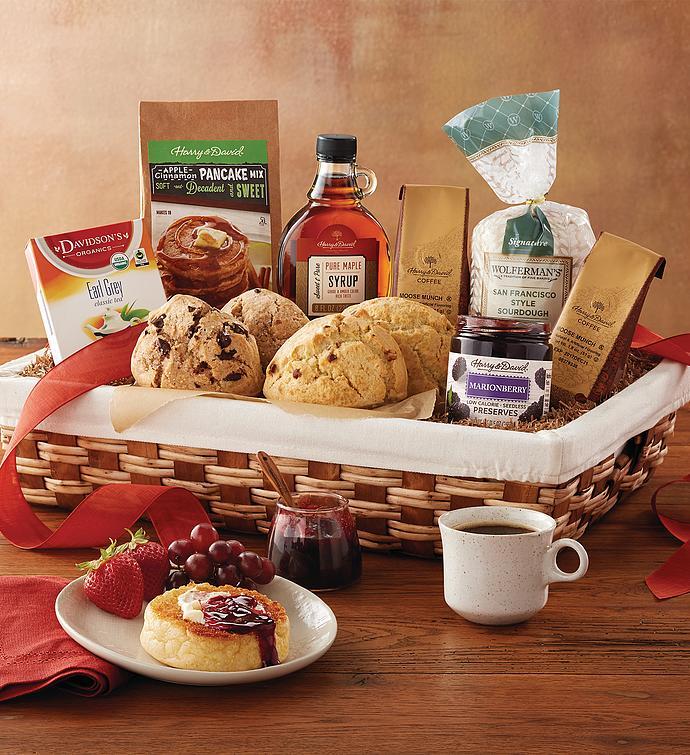 Harry And David Birthday Gift Baskets : Breakfast gift basket baskets delivered harry david