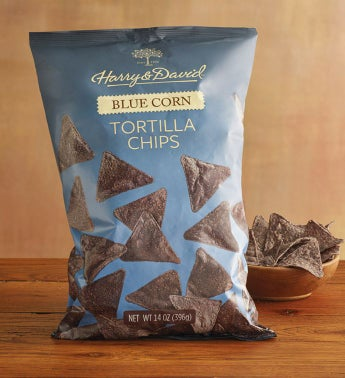 Blue Corn Tortilla Chips by Harry & David
