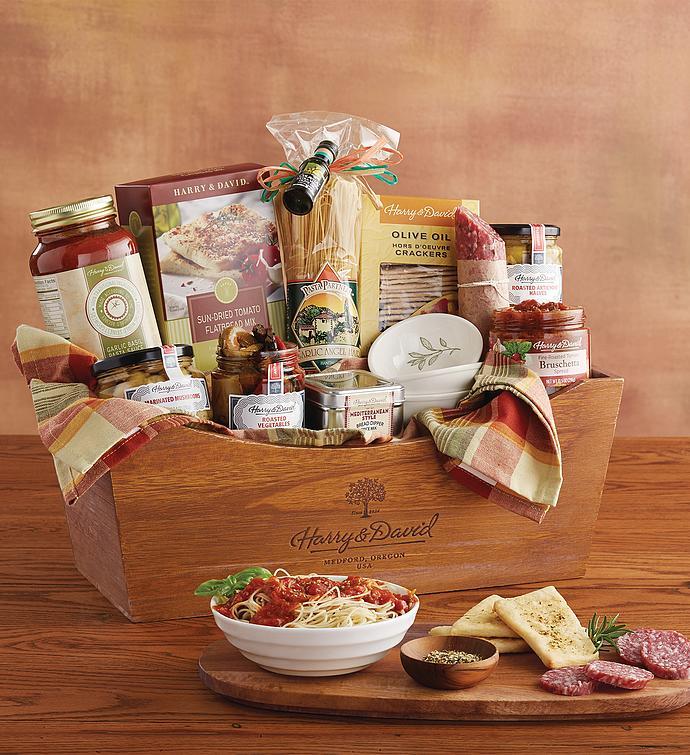 Italian inspirations gift basket harry david italian inspirations gift basket negle Image collections