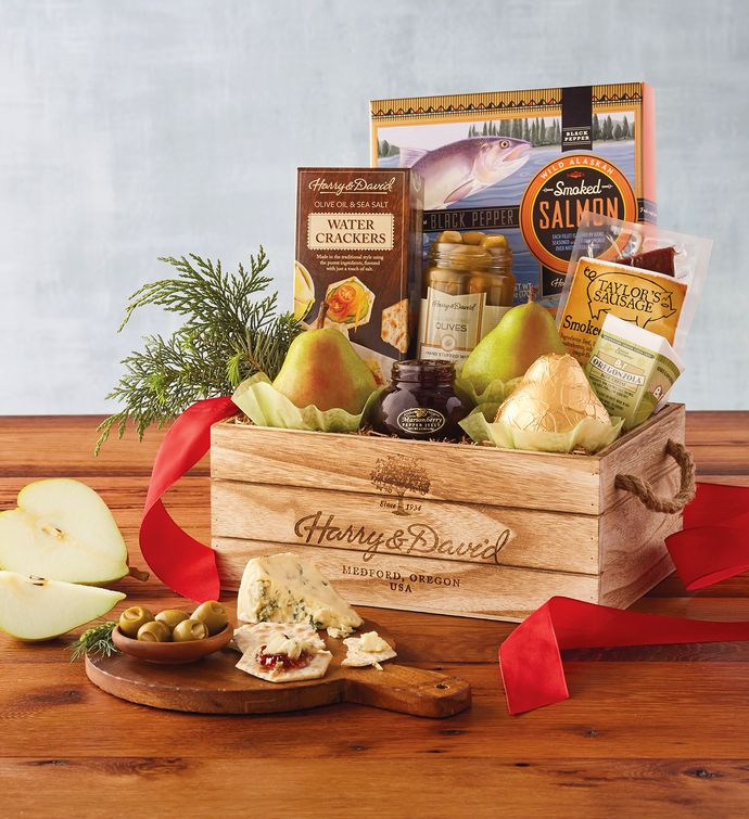 Harry And David Birthday Gift Baskets : Northwest gift basket christmas delivery