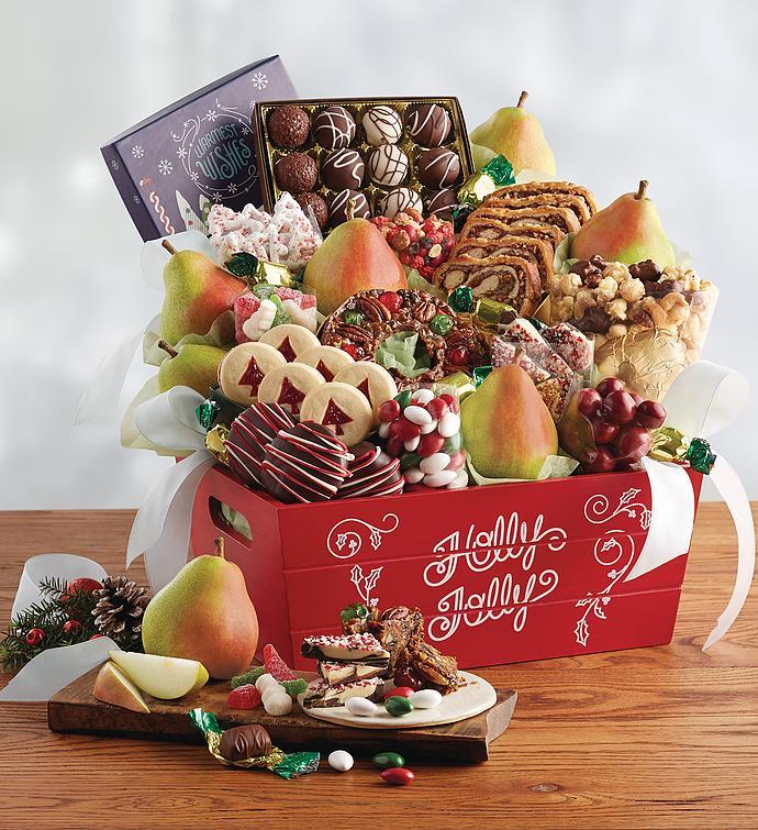 Harry And David Birthday Gift Baskets : Grand christmas gift basket