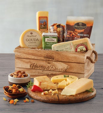 Gourmet Cheese Gift Crate