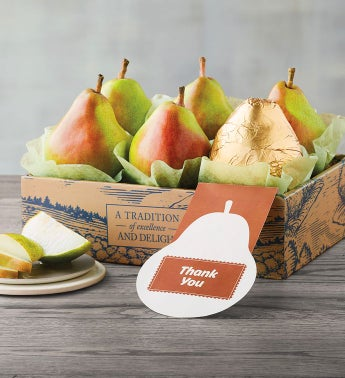 Thank You Pears Gift Box