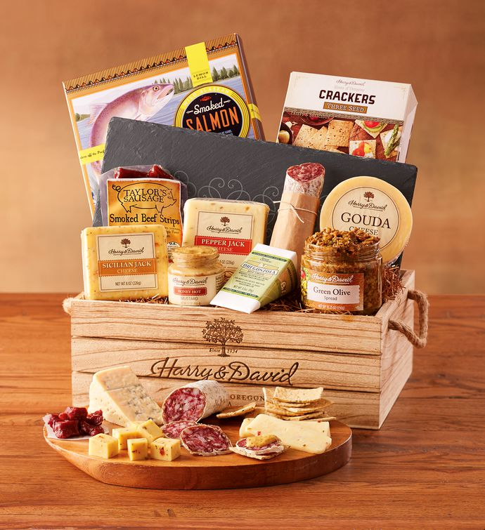 Artisan Meat and Cheese Gift | Best Meat and Cheese Gift Baskets