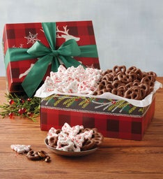 Holiday Covered Pretzels Gift