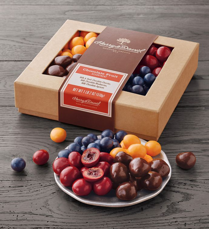 Chocolate-Covered Fruit