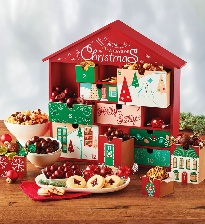 12 days of christmas gift keepsake christmas food gifts for Christmas kitchen gift basket ideas