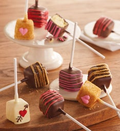 Valentine's Day Cheesecake Pops