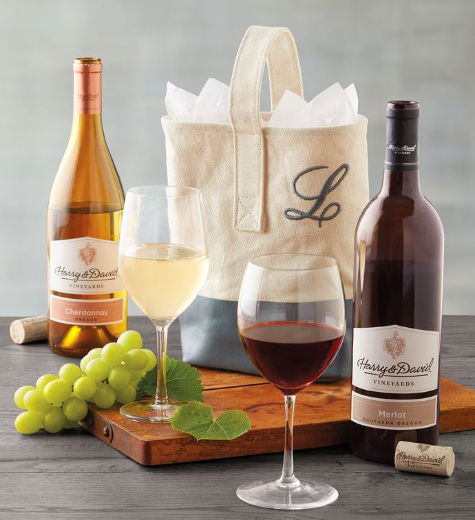 Personalized Wine Wedding Gift Tote Wine Gifts Harry David