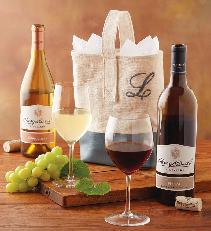 Personalized Wine Wedding Gift Tote | Wine Gifts | Harry & David