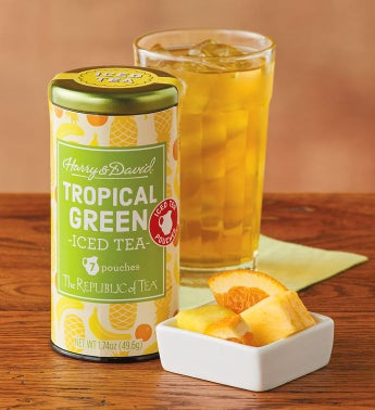 Tropical Green Iced Tea