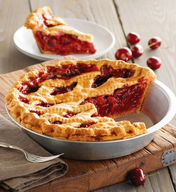 Sweet Lady Jane Deep Dish Cherry Pie