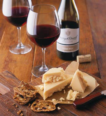 Sartori174 MontAmor233174 Cheese and Harry  David Pinot Noir