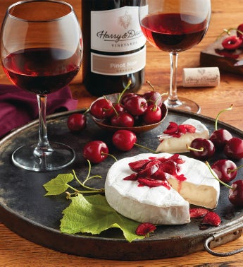 Cherry Oh174 Cherries Brie and Harry  Davidtrade Pinot Noir