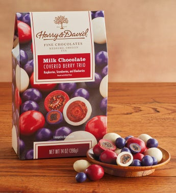 Milk Chocolate Covered Berry Trio  by Harry & David