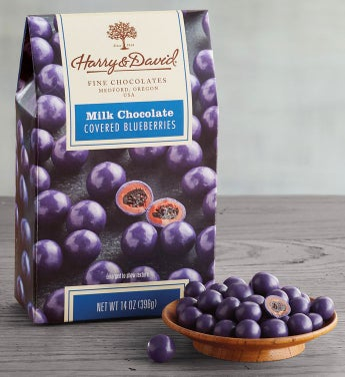 Milk Chocolate Blueberries