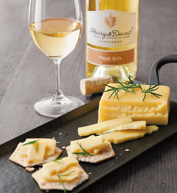 Wood River Creamery Alphas Morning Sun Cheese and Harry  Davidtrade Pinot Gris