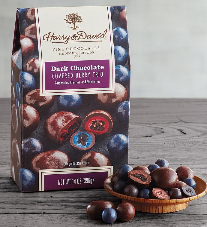 Dark Chocolate Fruit Trio