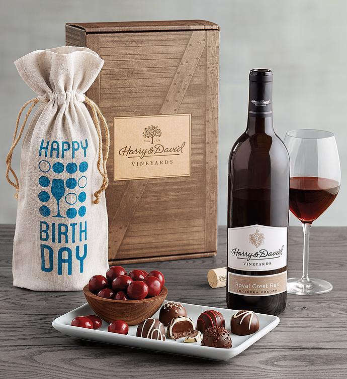 Birthday Red Wine Box