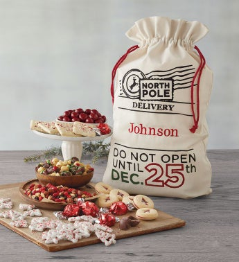 Personalized Santa's Sack of Treats