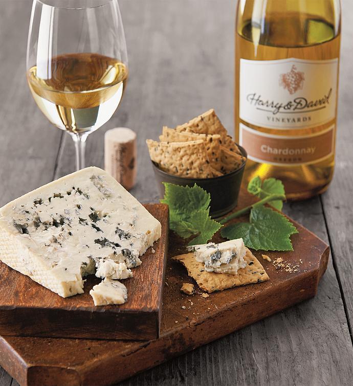 Sartori® Gorgonzola Cheese and Harry & David Chardonnay