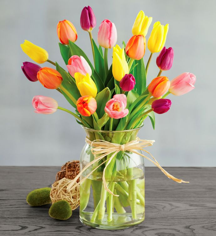 Spring Colors Tulip Bouquet