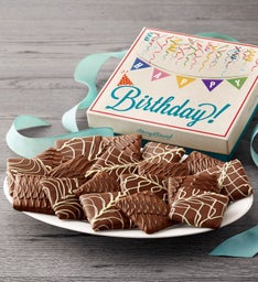 Chocolate-Covered Birthday Grahams