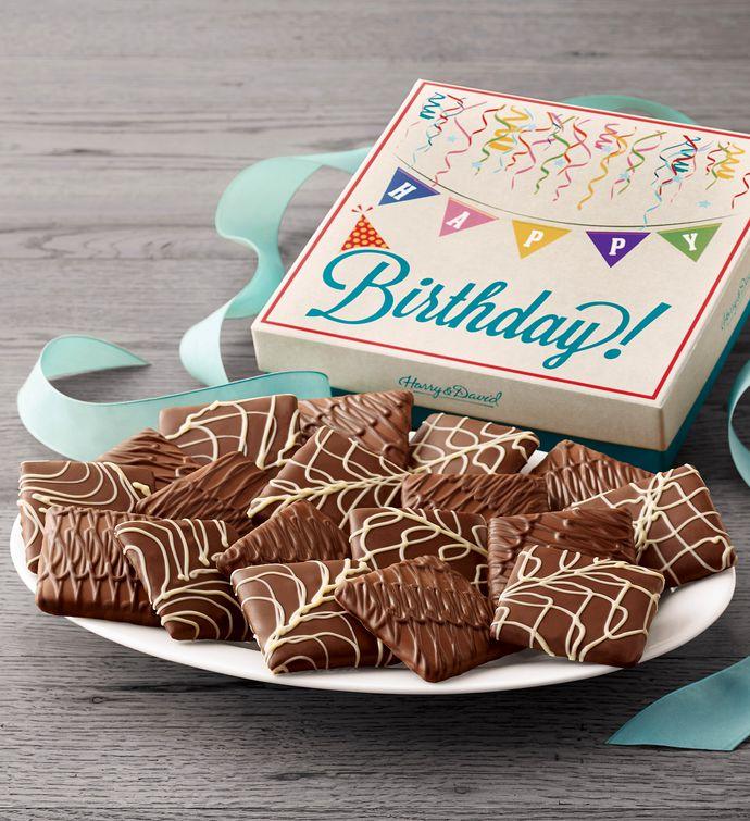 ChocolateCovered Birthday Grahams
