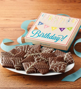 Chocolate Covered Birthday Grahams by Harry & David