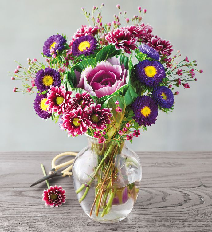 Vibrant Brassica Bouquet