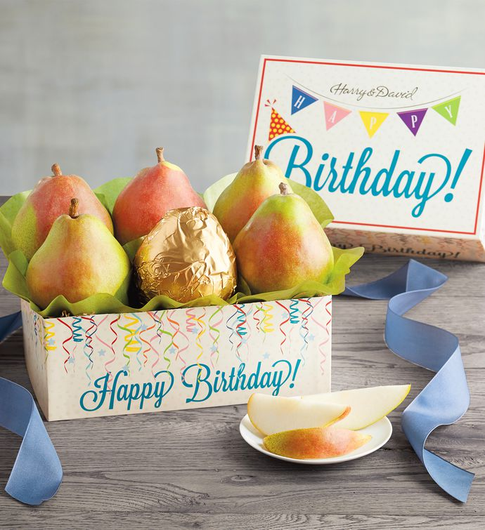 Royal Riviera Birthday Pears