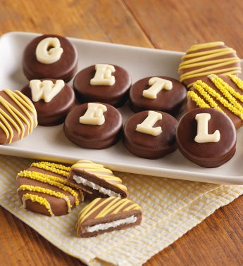 Get Well Chocolate Covered Cookies by Harry & David