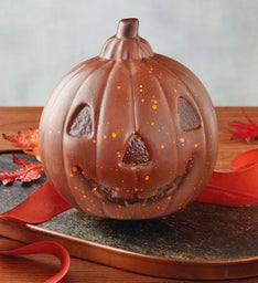 Chocolate Jack O' Lantern Centerpiece