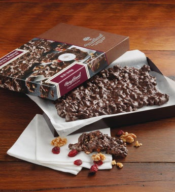 Walnut Dark Chocolate Bark