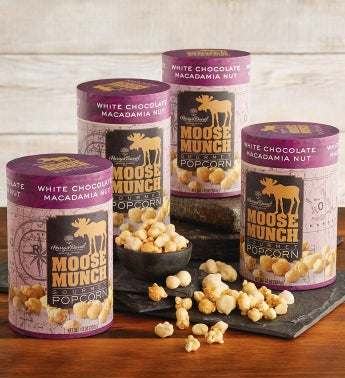 Limited Edition 4-Pack White Chocolate Macadamia Nut Moose Munch®
