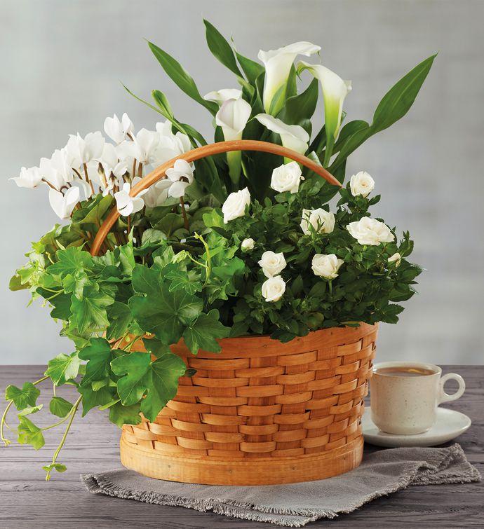 Sympathy Floral Basket