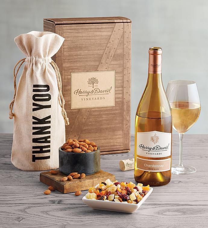 Thank You White Wine Gift Box