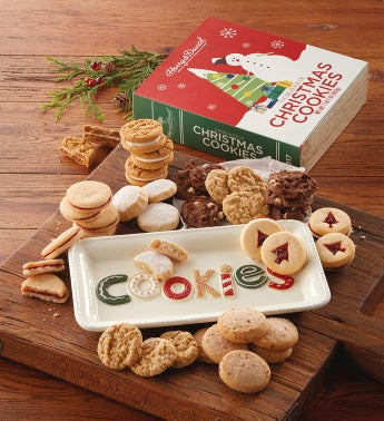 Christmas Cookie Box with Cookie Platter